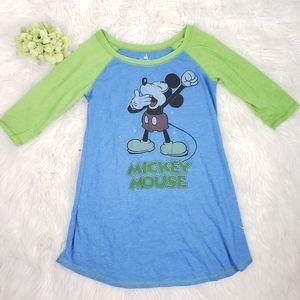Disney Parks Mickey Mouse size Med night shirt